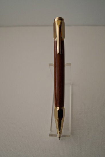Vertex Click Pen - Rosewood - Click Image to Close